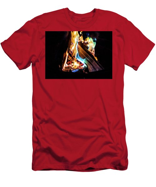 Campfire In July Men's T-Shirt (Athletic Fit)