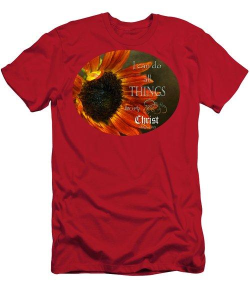 Can Do Spirit Men's T-Shirt (Athletic Fit)