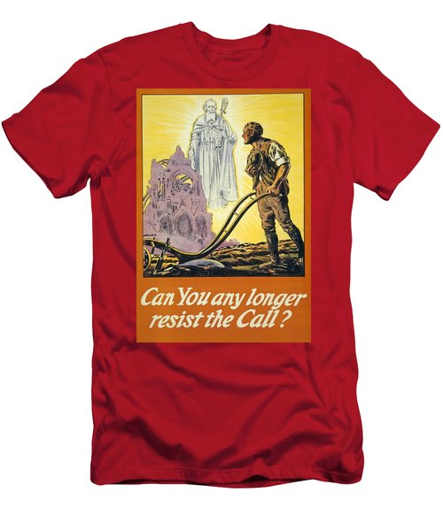 Can You Any Longer Resist The Call Men's T-Shirt (Athletic Fit)