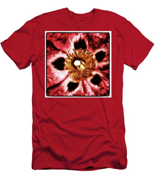 Men's T-Shirt (Athletic Fit) featuring the photograph Can You Guess What Flower? Hints: It's by Mr Photojimsf