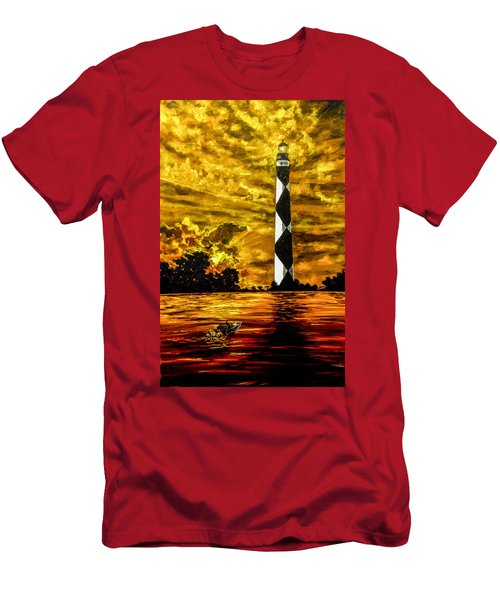 Candle On The Water Men's T-Shirt (Athletic Fit)