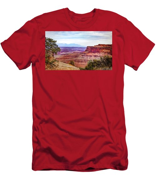 Canyonlands National Park Men's T-Shirt (Athletic Fit)