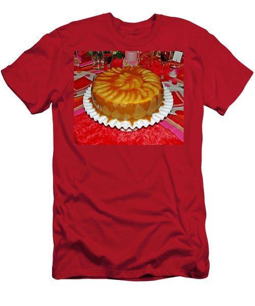 Caramel Apple Cheesecake Valentine Men's T-Shirt (Athletic Fit)