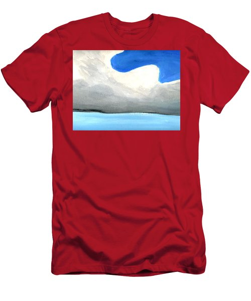 Caribbean Trade Winds Men's T-Shirt (Slim Fit) by Dick Sauer