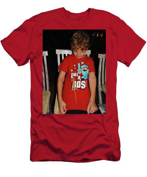 Caring For Chameleons 2 Men's T-Shirt (Athletic Fit)