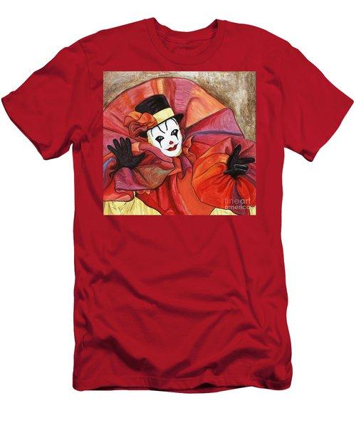 Carnival Clown Men's T-Shirt (Athletic Fit)