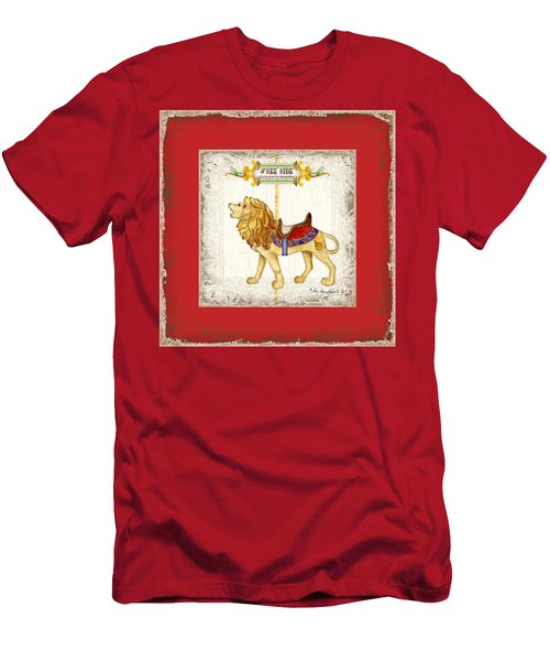 Carousel Dreams - Roaring Lion Men's T-Shirt (Athletic Fit)