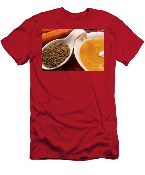 Carrot And Cumin Soup Men's T-Shirt (Athletic Fit)
