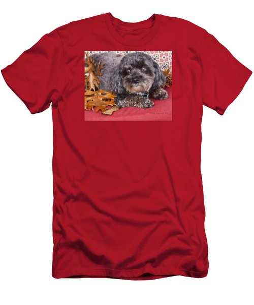 Men's T-Shirt (Slim Fit) featuring the photograph Cash by Joan Bertucci