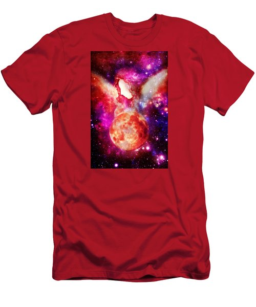Celestial Beings Of Light Men's T-Shirt (Athletic Fit)