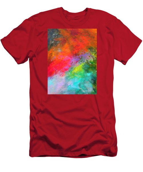 Fantasies In Space Series Painting. Celestial Concerto. Painting.  Men's T-Shirt (Athletic Fit)
