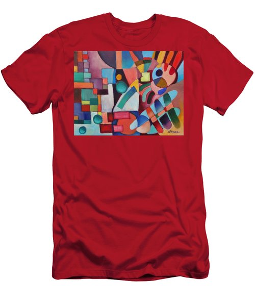 Cerebral Decor # 3 Men's T-Shirt (Athletic Fit)