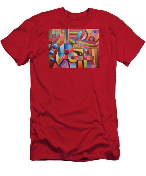 Cerebral Decor # 5 Men's T-Shirt (Athletic Fit)