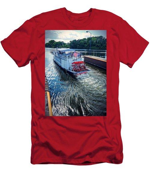 Champlain Canal Patriot Men's T-Shirt (Athletic Fit)
