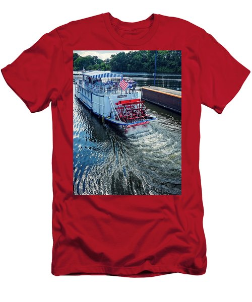 Champlain Canal Patriot Men's T-Shirt (Athletic Fit)
