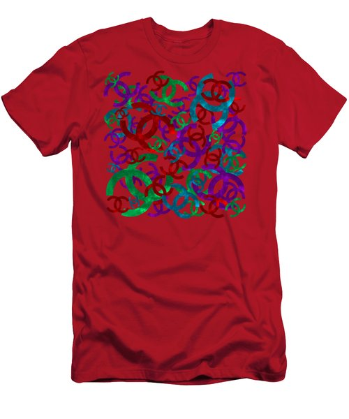 Chanel Sign-3 Men's T-Shirt (Athletic Fit)