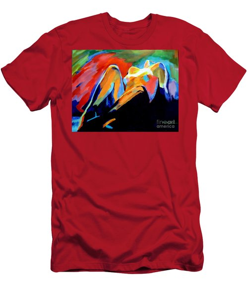 Charge Of The Soul Men's T-Shirt (Slim Fit) by Helena Wierzbicki