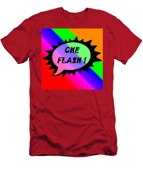 Che Flash Men's T-Shirt (Athletic Fit)