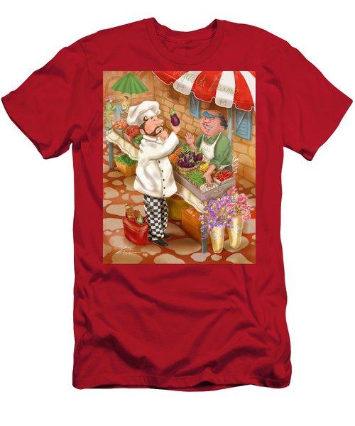 Chefs Go To Market I Men's T-Shirt (Athletic Fit)