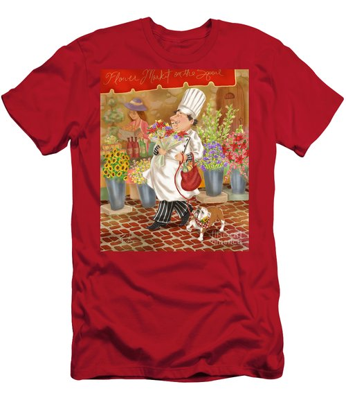 Chefs Go To Market II Men's T-Shirt (Athletic Fit)