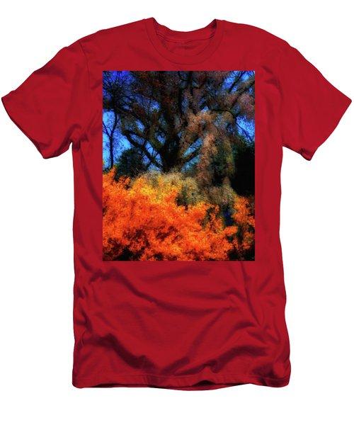 Cherry Blossoms P4 Men's T-Shirt (Athletic Fit)