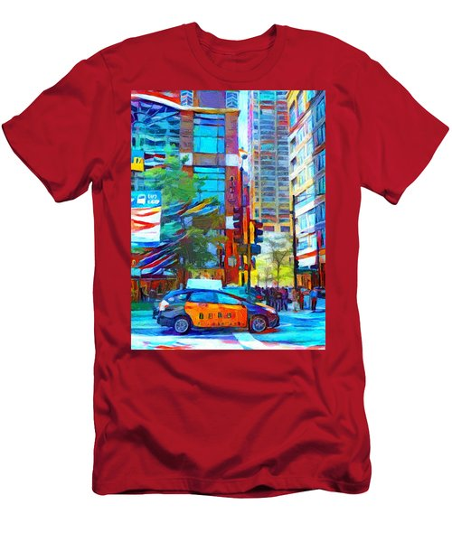 Chicago Colors 1 Men's T-Shirt (Athletic Fit)