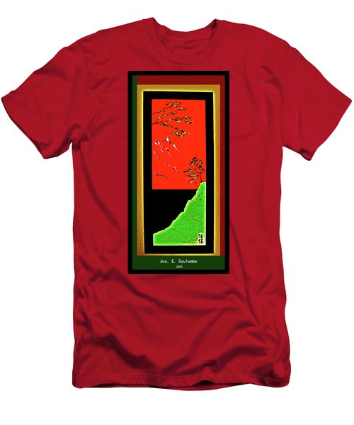China Island Trees Men's T-Shirt (Athletic Fit)