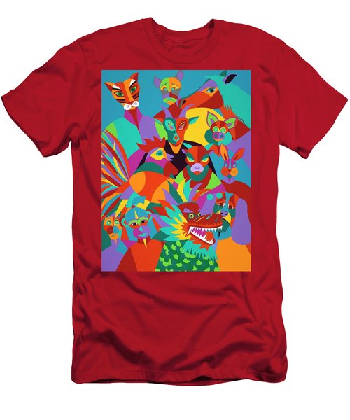 Chinese New Year Men's T-Shirt (Athletic Fit)
