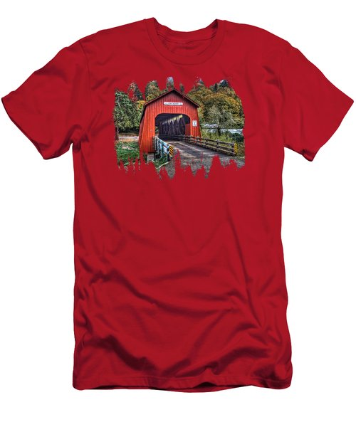 Chitwood Covered Bridge Men's T-Shirt (Athletic Fit)