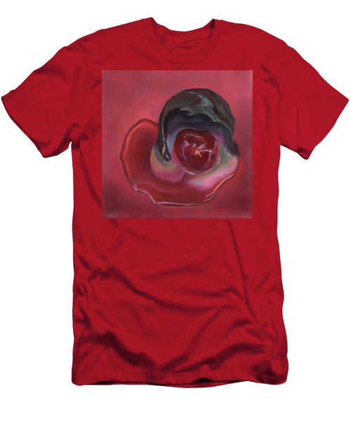 Chocolate Covered Cherry Men's T-Shirt (Athletic Fit)