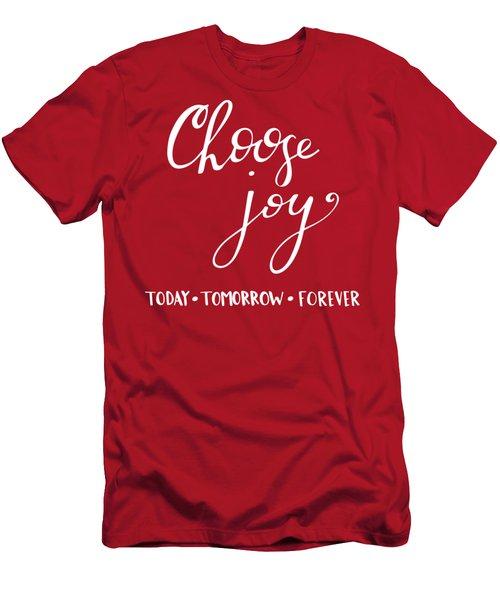 Choose Joy Men's T-Shirt (Athletic Fit)