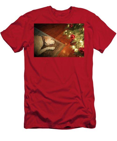 Christmas Dreams Men's T-Shirt (Athletic Fit)