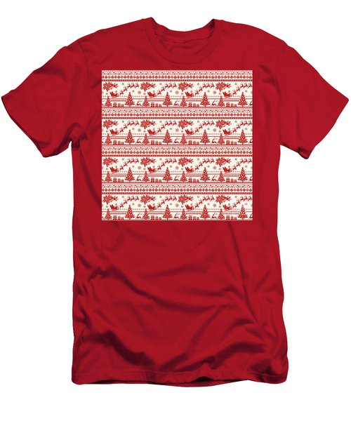 Christmas Folklore-a Men's T-Shirt (Athletic Fit)