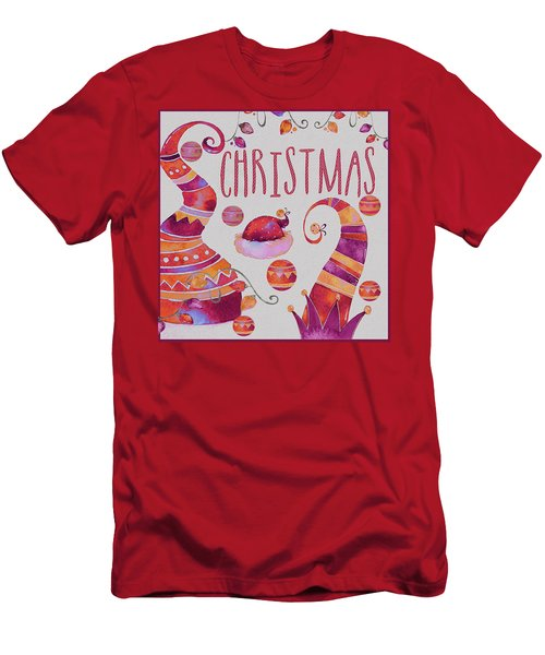Men's T-Shirt (Slim Fit) featuring the photograph Christmas by Jeff Burgess