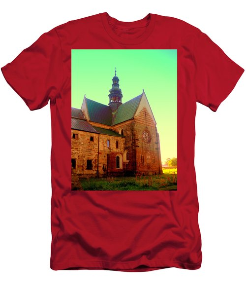 Church Of The Blessed Virgin Mary And St. Florian In The Wachock Men's T-Shirt (Athletic Fit)