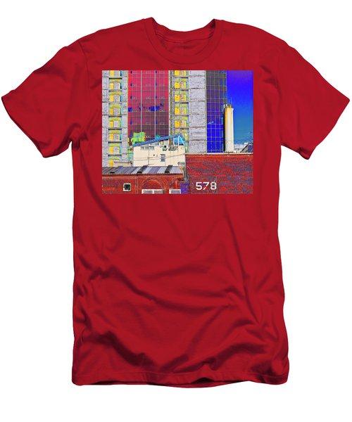 City Space Men's T-Shirt (Athletic Fit)