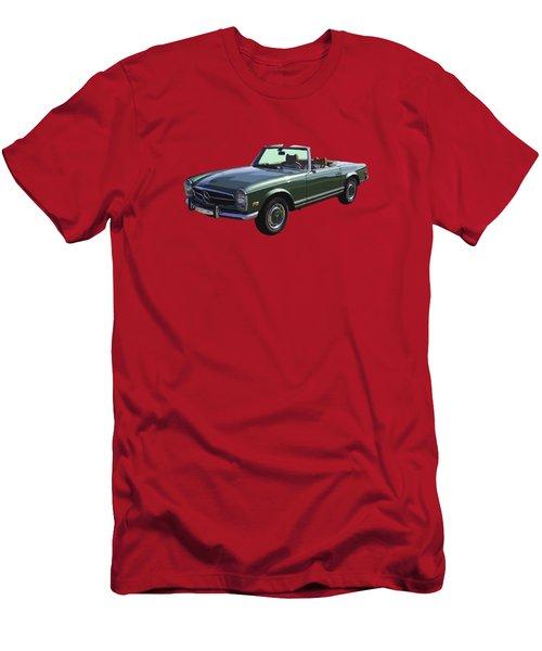 Classic Mercedes Benz 280 Sl Convertible Automobile Men's T-Shirt (Slim Fit) by Keith Webber Jr