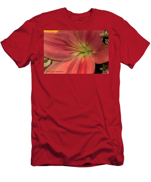 Close Up And Personal Men's T-Shirt (Slim Fit) by Nance Larson