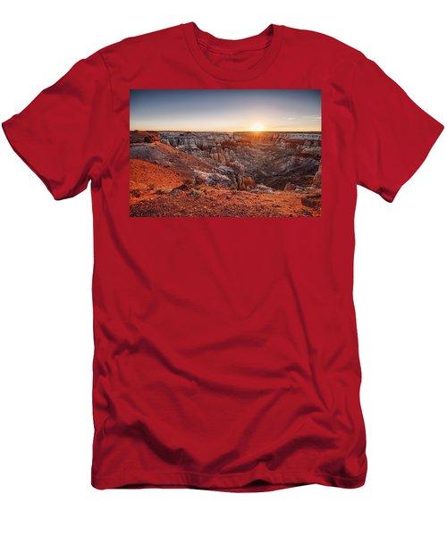 Coal Mine Canyon Sunrise Men's T-Shirt (Athletic Fit)
