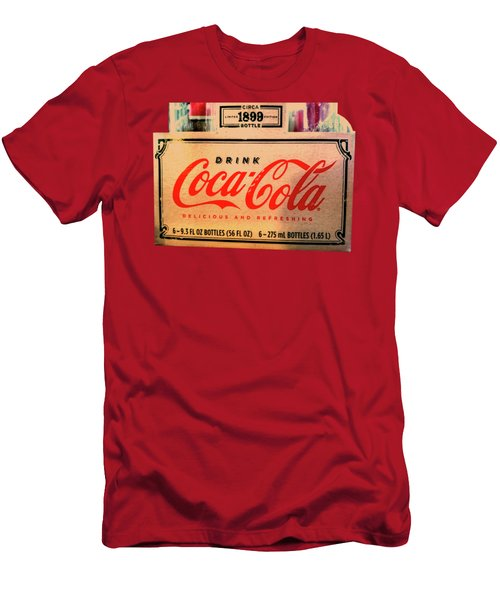 Coca Cola 1899 Canvas Print,photographic Print,art Print,framed Print,greeting Card,iphone Case, Men's T-Shirt (Athletic Fit)