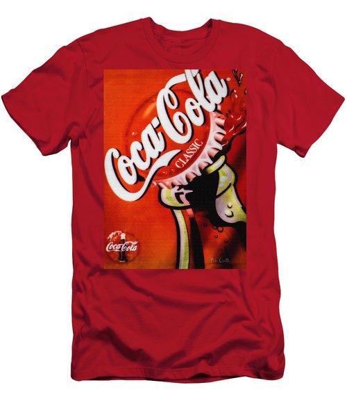 Coca Cola Classic Men's T-Shirt (Athletic Fit)