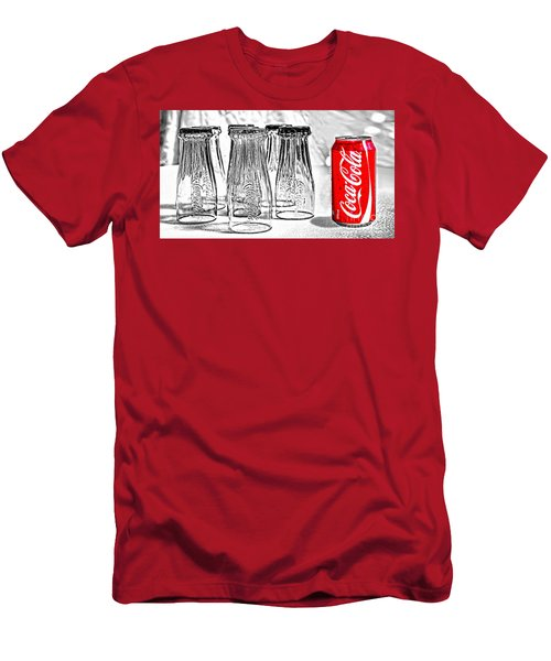 Coca-cola Ready To Drink By Kaye Menner Men's T-Shirt (Athletic Fit)