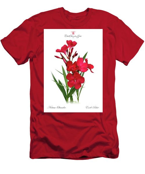 Cog  Nerium Oleander Emile Sahut Men's T-Shirt (Athletic Fit)