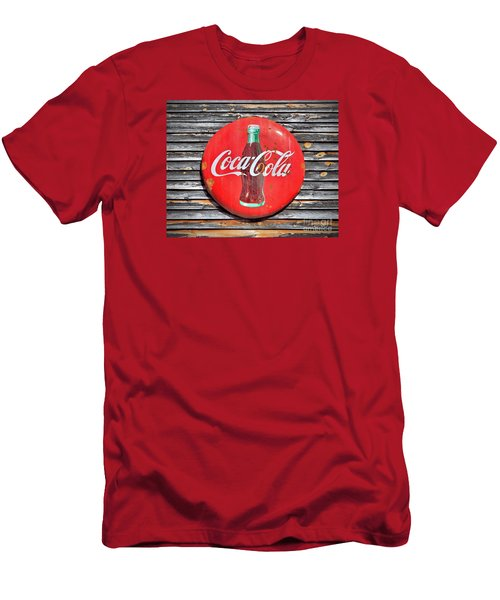 Men's T-Shirt (Slim Fit) featuring the photograph Coke by Marion Johnson