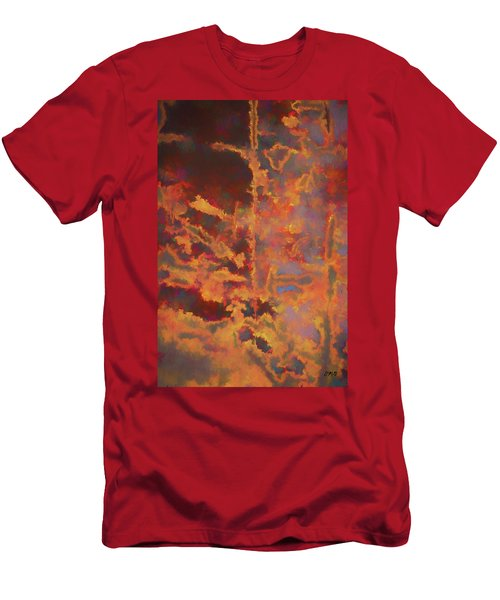 Men's T-Shirt (Slim Fit) featuring the photograph Color Abstraction Lxxi by David Gordon