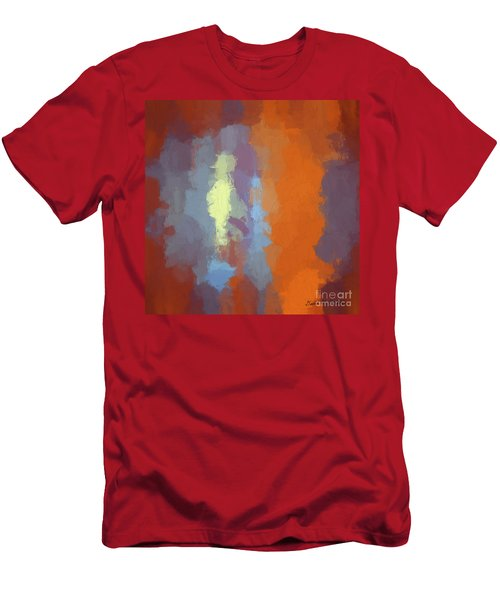 Color Abstraction Xxiii Sq Men's T-Shirt (Athletic Fit)