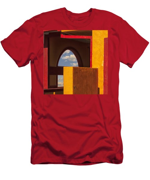 Colorful Adobe One Men's T-Shirt (Slim Fit) by Gary Warnimont