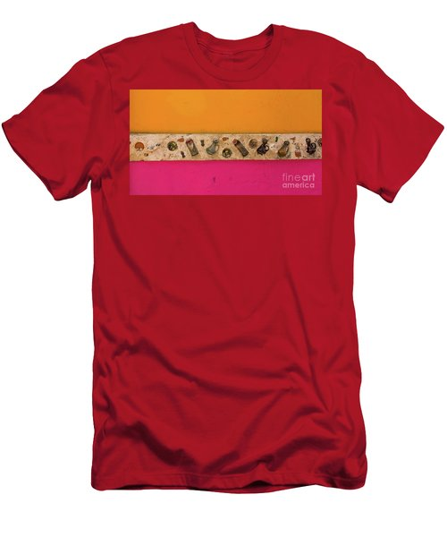 Colorful Mexico  Mexican Art By Kaylyn Franks Men's T-Shirt (Athletic Fit)