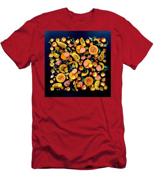 Colors Of Winter Squash Men's T-Shirt (Athletic Fit)