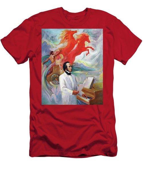 Composer Felix Mendelssohn Men's T-Shirt (Athletic Fit)